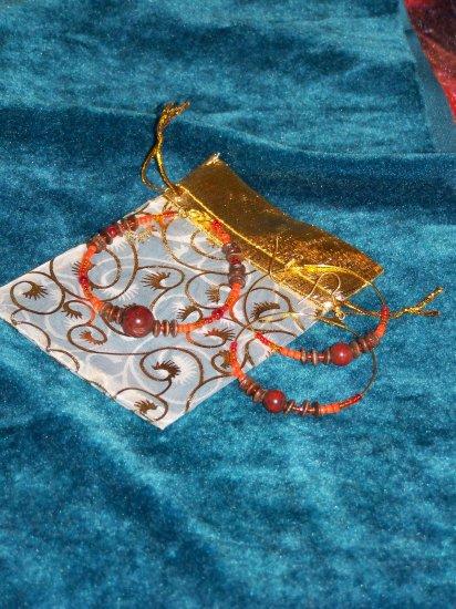 Jasper Earrings & Bracelet Set
