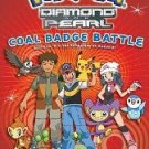 NEW Pokemon Diamond & Pearl Coal Battle Badge Book by Scholastic (Tracey West), Paperback