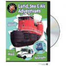 Real Wheels DVD - Land, Sea & Air Adventures ( Boat, Mail, Helicopter )