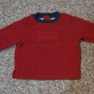 Boys 6-9 month Peek-A-Babe long sleeved shirt