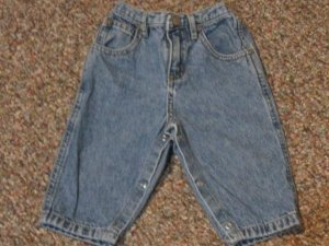 Boys 6-9 month Faded Glory jeans