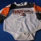 Boys 18 month Harley Davidson long sleeve onsie