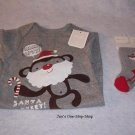 Boys 3-6 month Old Navy one piece & socks set - NWT