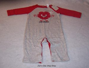Boys 3-6 month long sleeve one piece - NWT