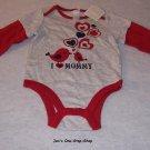 Girls 6-12 month Old Navy long sleeve onsie - NWT