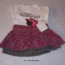 Girls 0-3 month Old Navy Thanksgiving set - NWT