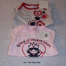 Girls 0-3 month Old Navy, set of 2, long sleeve onsies - NWT