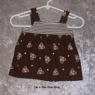Girls 3 month Circo, brown tank top - NEW