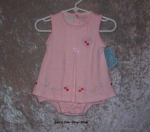"Girls 0-3 month Child of Mine ""dress"" onsie - NWT"