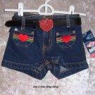 Girls 3T Bongo shorts - NWT