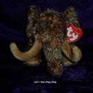 Giganto the Wooly Mammoth beanie baby - NWT