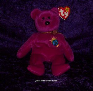 Millenium the Bear beanie baby - NWT