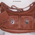 "Faded Glory, tan, purse ""set"" - NWT"