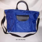 Dark Blue, big tote - great for the beach