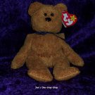 Fuzz the Bear beanie baby - NWMT
