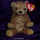 Pecan the Gold Bear beanie baby - NWMT