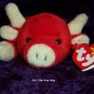 Snort the Bull beanie baby - NWMT