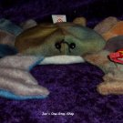 Claude the Crab beanie baby (lighter colored) - NWMT