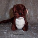 Runner the Mustelidae beanie baby - NWMT