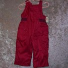 Girls 18-24 month Old Navy pink snowpants - NWT