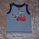 "Boys 18 month Disney ""Cars"" tank top"