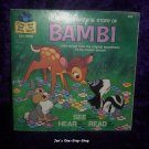 "Disney's ""Bambi"" Book and Record"