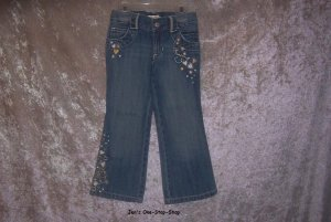 Girls 3T Old Navy jeans w/Heart Design - NWT!!!