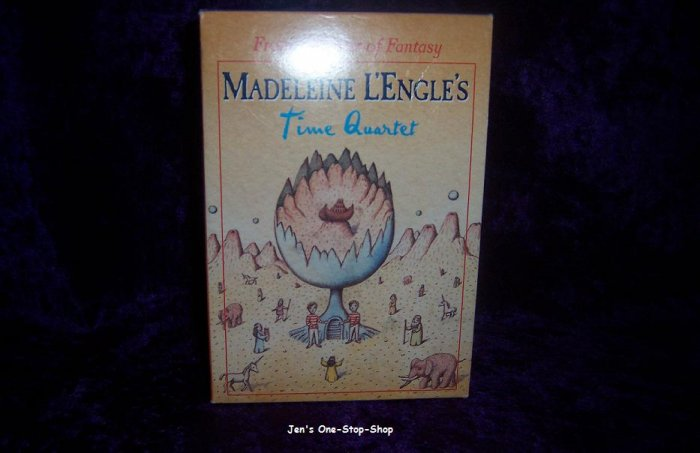 Set of 4 books by Madeleine L'Engle