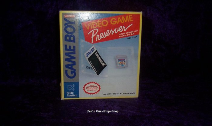 Game Boy game cases - New In Package!!