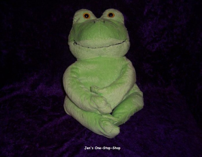 Big light green frog