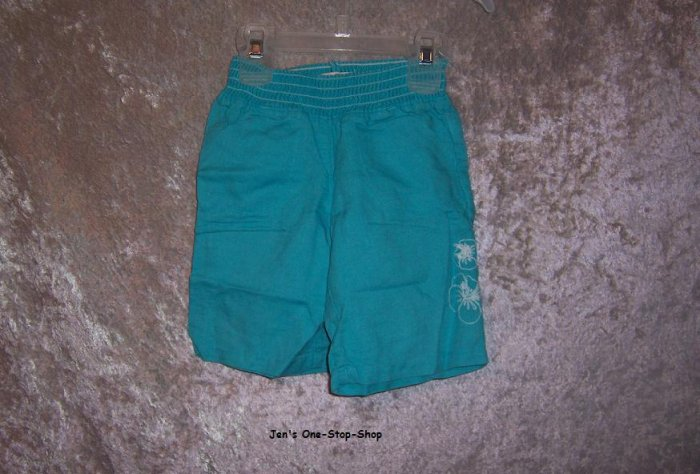Girls 18-24 month bright blue Old Navy capris