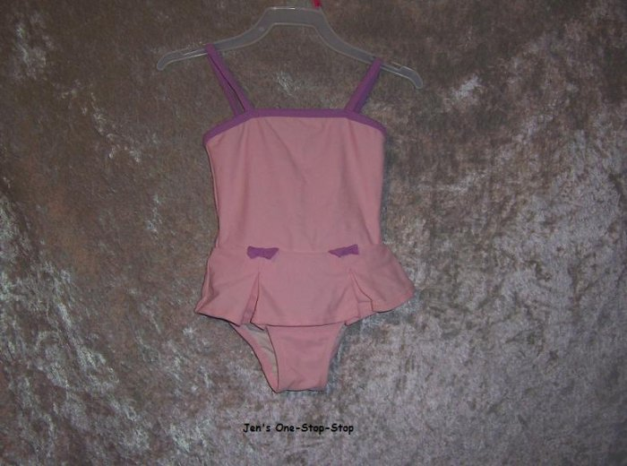 Girls 12 month Circo, light pink, one piece swimsuit