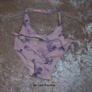 Girls 18-24 month Gap light purple bikini w/flowers