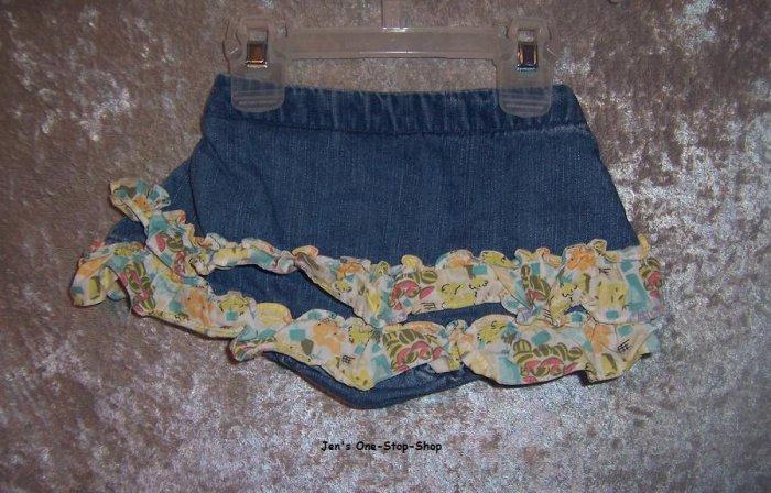 Girls 18-24 month Gymboree jean skort