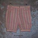 Girls 18 months Genuine Kids capris - striped