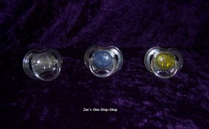Set of 3 Avent Pacifiers - opened, but NEVER used!!!