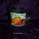 """I'm Easy To Get Along With When Things Go My Way"" Garfield, McDonalds cup"