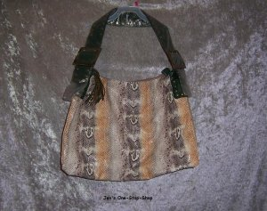 "Nordstrom ""snake skin"" purse - NWT!"