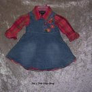 Girls 6-9 months The Children's Place dress & shirt set