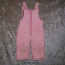 Girls 24 month light pink snowpants