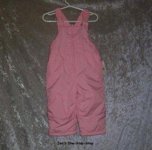 Girls 12 month light pink Millennium snow pants - NWT