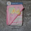 Girls Just One Year hooded towel - NWT