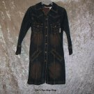 Girls Size 4/5 Mary Kate and Ashley long sleeve jean dress