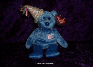September 2 the Bear Beanie Baby - NWMT
