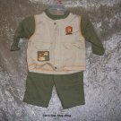 Boys 3-6 month Babyworks shirt and pants set