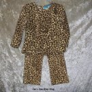 Girls' 4T The Children's Place Animal Print two piece outfit