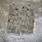 Girls' Size 4 Mary Kate and Ashley camouflage capris