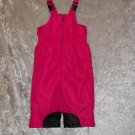 Girls 3T Faded Glory Pink and Black Snow Pants