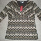 NEW Womens Shirt, Top Size S