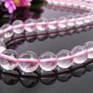 round bead Rose Quartz    necklace    $ 14